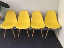 Chairs Yellow Dining Room Set Wood