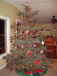 Artificial Silvertip Christmas Tree by Noble Fir Christmas Tree I Love The Layered Branches For
