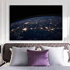 leinwand malerei poster und drucke earth globe planet