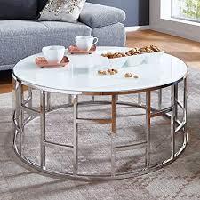 moebella designer glas tisch couchtisch mit weißglas alegra
