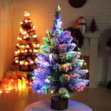 Flocked Christmas Trees Uk by Online Buy Wholesale Snowing Christmas Tree From China Snowing