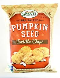 Sprouting Pumpkin Seeds by Sprouts Sea Salted Pumpkin Seed Tortilla Chips Pumpkin Spice