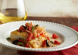 Italian Baked Fish With White Wine