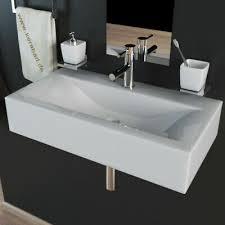design keramik handwaschbecken waschbecken waschtisch gäste wc 45x30x10cm kbw153 ebay