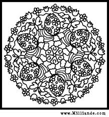 Free Printable Mandala Coloring Pages Easter Eggs And Spring Butterflies