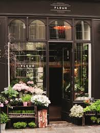 Store Front W Logo I Dont Know Where This Is But When Was In France Completely Enamored By The Beautiful Little Flower Shops On Charming