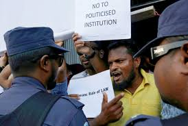 un siege social u n says rule of siege in maldives crisis