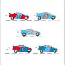 stickers voiture pour chambre garcon stickers voiture pour une décoration