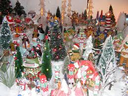 Thomas Kinkade Christmas Tree Village by Christmas Village Fun Blog February 2012