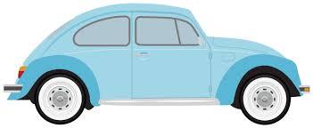 Vintage Beetle Car Clipart