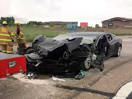 100 Fire Truck Accident Tesla Car Accident Against Fire Truck Is Being Investigated In Utah