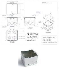 Hubbell Floor Box Cover Plates by Ap Pufp B Floor Box Cover Concrete Floor Electrical Boxes