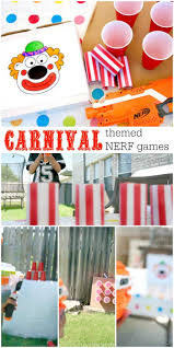 Create A Backyard Midway With Carnival Themed NERF Games ... 25 Tutorials For A Diy Carnival The New Home Ec Games 231 Best Summer Images On Pinterest Look At The Hours Of Fun Your Box Could Provide With Game Top Theme Party Games For Your Kids Backyard Lollipop Tree Game Put Dot Sticks Some Manjus Eating Delights Carnival Themed Birthday Manav Turns 4 240 Ideas Dunk Tank Fun Summer Acvities Outdoor Parties And Best Scoo Doo Images Photo With How To Throw Martha Stewart Wedding Photography By Vince Carla Circus