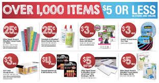 fice Depot fice Max School Supply Deals for Week of 8 31 14