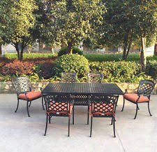 7 Piece Patio Dining Set by Aluminum Patio Dining Set Ebay