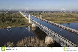 100 Magdeburg Water Bridge Aerial View Of Stock Photo Image Of