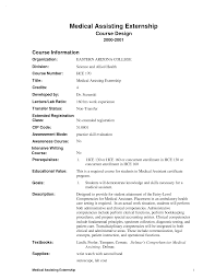 Resume Medical Assistant Examples