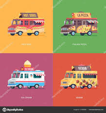 Set Of Flat Food Truck Illustrations. Modern Design Concept ... Fort Collins Food Trucks Carts Complete Directory Shaved Ice Truck And Cream Kona Dinos Italian Water Ritas Home Facebook People And Foreigner Travellers Buying Zeppes St George Utah Adirondack Baker Classic Grassos For Sale Rent Pinterest Jk San Antonio Roaming Hunger Repiccis Trio Birmingham Recap Dtown Raleigh Rodeo May 3 2015 The Jeremiahs
