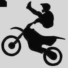 Dirt Bike Clipart Black And White Free