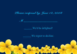 Background EWI158 Free Blue Rustic Floral Response Cards