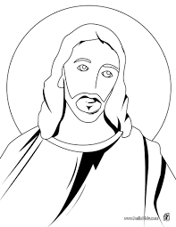 Jesus Sharing Bread And Wine Holy Face Of Christ Coloring Page