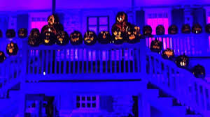 Great Pumpkin Blaze by Great Jack O Lantern Blaze Van Cortlandt Manor Youtube