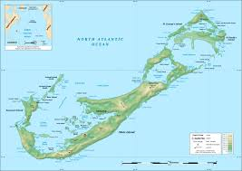 Where Does Seafloor Spreading Take Place by Geography Of Bermuda Wikipedia