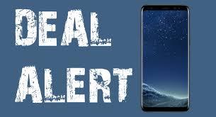 Smartphone Deal Alert Samsung Galaxy S8 Fully Unlocked for $413
