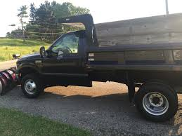 2007 Ford F-350 Dump Truck With Plow & Salter $34,900 | PlowSite