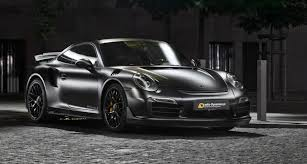 Forget The Batmobile: The Porsche 911 Turbo S Dark Knight Is The Car ...