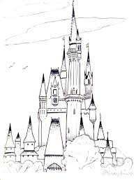 Coloring Pages Disney Junior Pdf Frozen Castle Free Printable For Kids Characters Valentines