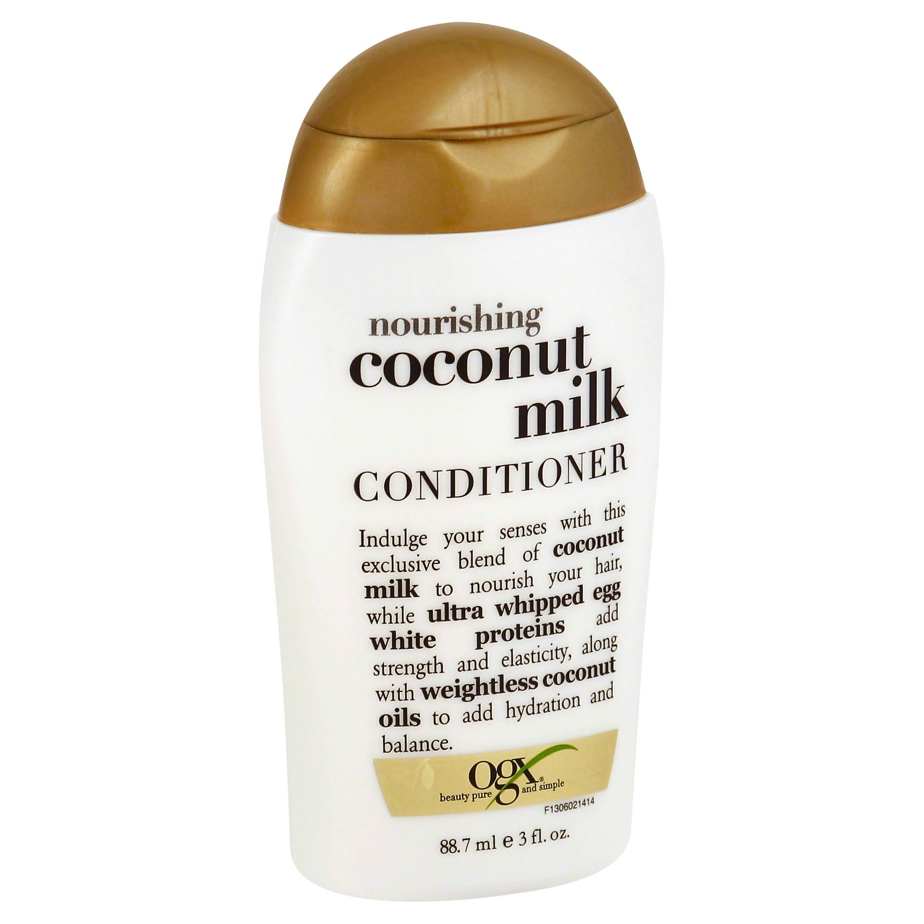 Ogx Conditioner - 88.7ml, Coconut Milk