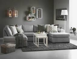deco canapé gris canapé gris anthracite nouveau decoration salon moderne gris deco