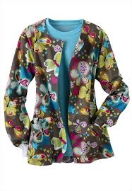 Ceil Blue Print Scrub Jackets by 117 Best Nurse Scrub Wear Images On Pinterest Nursing Scrubs