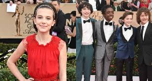 Cast Of Halloween 2008 by Stranger Things U0027 Cast Promotes Season 2 In Beverly Hills Caleb