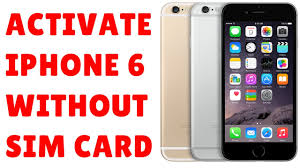 How to Activate iPhone 6 without Sim Card using iTunes FULL DETAILED