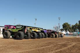 99 Monster Trucks In Phoenix All Stars Show With Tank Arizona State Fair