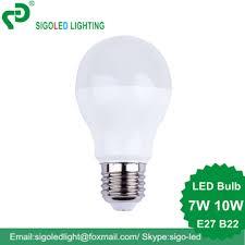 10w a60 energy saving led light bulb philips design ac110v 220v 240v