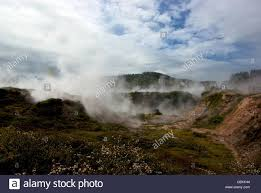 Craters Of The Moon Geothermal Steam Vents Mud Pools Explosion Crater Lake Taupo New Zealand
