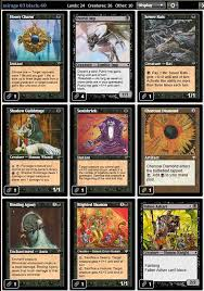 magic the gathering adventures legacy a black deck only with