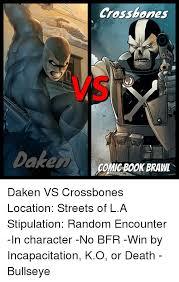 Memes Streets And Book Crossbones O Dakem Eco NCBOOK BRAM Daken Co