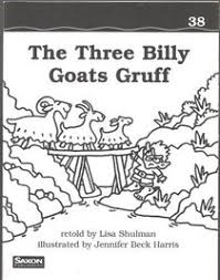 The Three Billy Goats Gruff Book 38 Saxon Phonics And Spelling 1 Reader