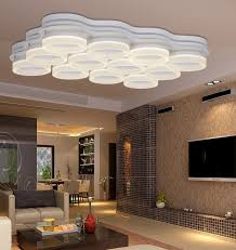 modern led l ceiling lights surface mounted lighting fixture