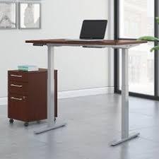 Jesper Prestige Sit Stand Desk by Unique Furniture Prestige Sit Stand Collection Electric Height