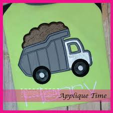 Dump Truck Applique - 3 Sizes! - Products - SWAK Embroidery Personalized Birthday Dump Truck Applique Shirt Or Bodysuit Girl Boy Valentines Day With Hearts Boyss Tow Machine Embroidery Design Blue Green Boy Christmas Mardi Gras Crimson Football Dumptruck Little 2 Dump Truck Applique Etsy Shamrock Saint Patricks Embroitique Gifts Filled For