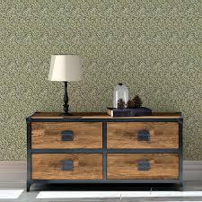 william morris jugendstil tapete wilde weiden dunkel grüne vlies tapete natur wandgestaltung für schlafzimmer