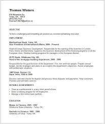 Bank Executive Resume Examples Top 10 Objective And Writing Tips