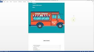 100 Ice Cream Truck Business Plan Template Food Fashion 127757964201 Food