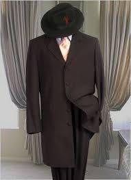 Classic Vintage Suits Men 3 Piece Zoot