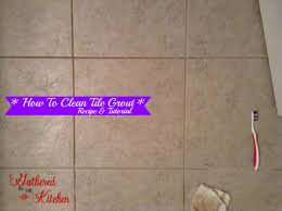 diy grout cleaner recipe with baking soda